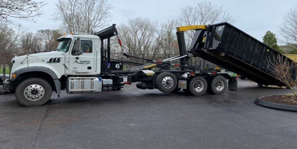 Roll-off container and dumper rental in Maryland