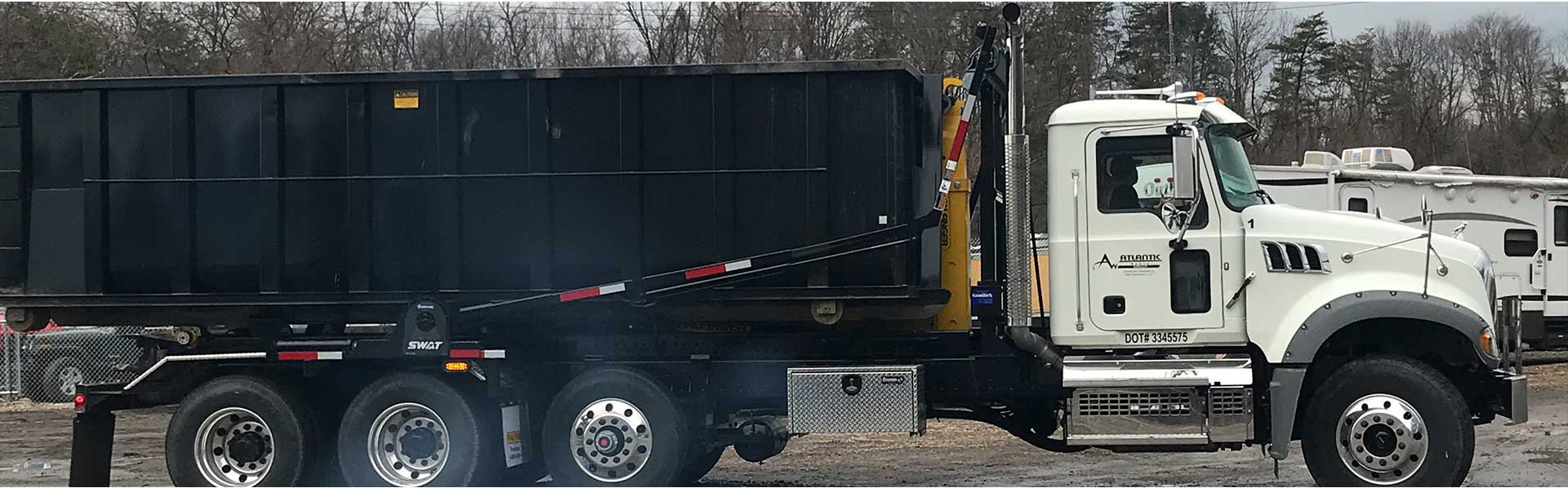 Roll-off container, Hauling service in Baltimore